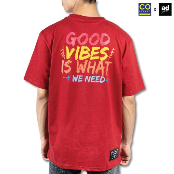 Colegacy X AD Jeans Men Oversize Letter Word Graphic Tee