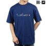 Colegacy X AD Jeans Men Oversize Letter Slogan Graphic Tee