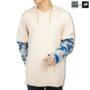 Colegacy X AD Jeans Men Army Sleeve Hoodies