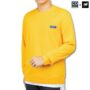 Colegacy X AD Jeans Men Plain Round Neck Long Sleeve Sweater