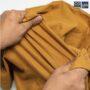 Colegacy Men Cotton Oversize Plain Round Sleeve Tee