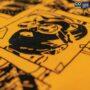 Colegacy Men Cotton Oversize Cartoon Graphic Tee