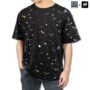 Colegacy X AD Jeans Men Oversize Space Design Graphic Tee