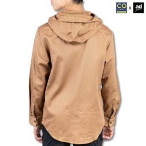 Colegacy X AD Jeans Men Hooded Long Sleeve Shirt