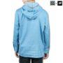 Colegacy X AD Jeans Men Denim Hooded Pocket Shirt
