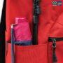Colegacy Signature High Quality Stripe Pocket Backpack