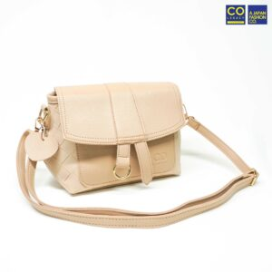 Colegacy Signature High Quality Plain Colour zip Crossbody Bag
