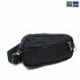 Colegacy Signature Minimalist Plain Casual Double Zip Crossbody Bag