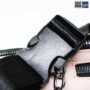 Colegacy Signature Mini Casual Chain Lock Zip Waist Pack