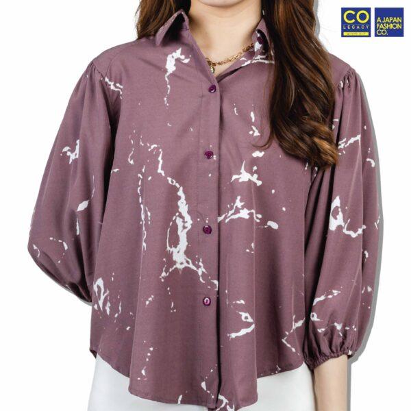 Colegacy Women Casual Collared Shirt