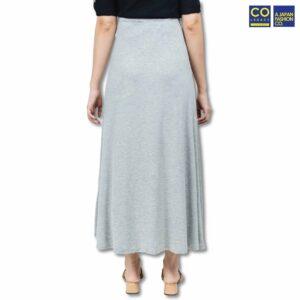 Colegacy Women Floral Basic Maxi Skirt