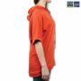 Colegacy Women Cotton Multi Colour Word Short Sleeve Hoodie