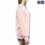 Colegacy Women Cotton Cartoon Smile Design Long Sleeve Sweater
