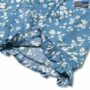 Colegacy Women Short Sleeve Round Neck Floral Dress