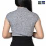 Colegacy Women Highly Stretchable Short Sleeve Knitwear