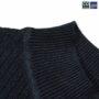 Colegacy Women Basic High Neck 3/4 Sleeve Blouse