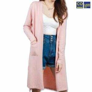 Colegacy Women Cotton Long Sleeve Cardigan