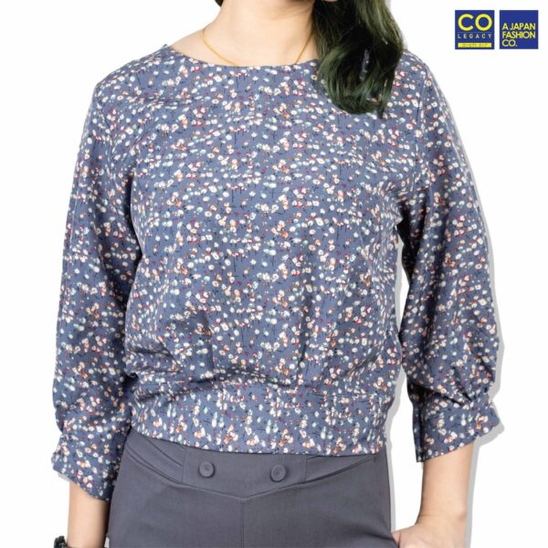 Colegacy Women Floral Round Neck Blouse