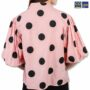 Colegacy Women Dot Collared Shirt
