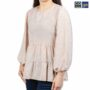 Colegacy Women Floral Round-Neck Long Sleeve Blouse