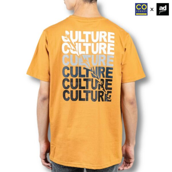 Colegacy X AD Jeans Men Oversize Colour Word Graphic Tee