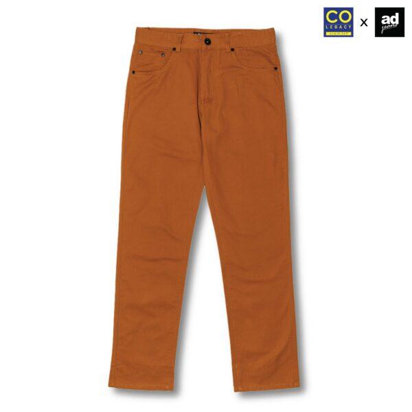 Colegacy X AD Jeans Men Classic Pocket Plain Long Pants
