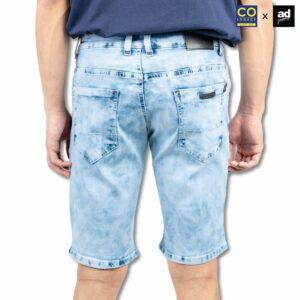 Colegacy X AD Jeans Men Signature Denim Pocket Short Jeans