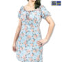 Colegacy Women Floral Round Midi Dress
