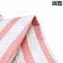 Colegacy Women Stripe Collared Long Sleeve Shirt