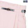 Colegacy Women Cotton Belt Plain Long Pants