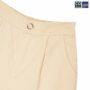 Colegacy Women Plain Button Straight Long Pants